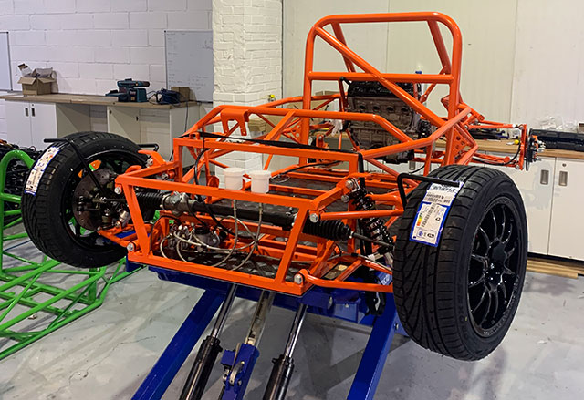 Exobusa kit car build