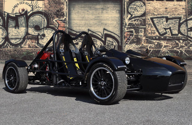 the exotech sports car